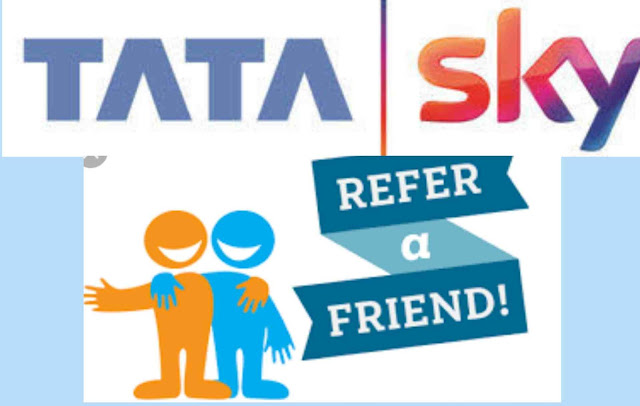 tata sky refer and 300 earn