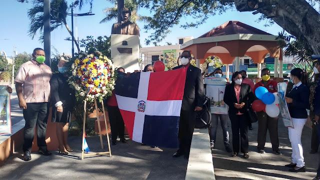 Distrito Educativo 01-04 conmemora 177 aniversario de la  Independencia Nacional