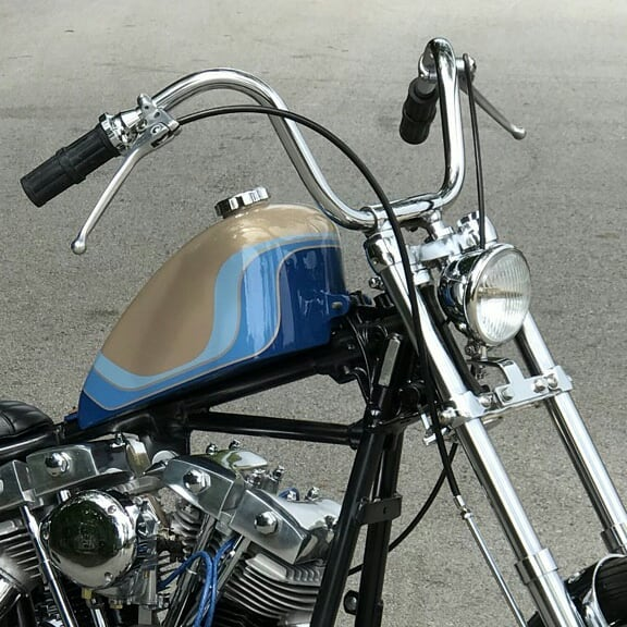 Harley Davidson Shovelhead By Gasshole Garage Hell Kustom