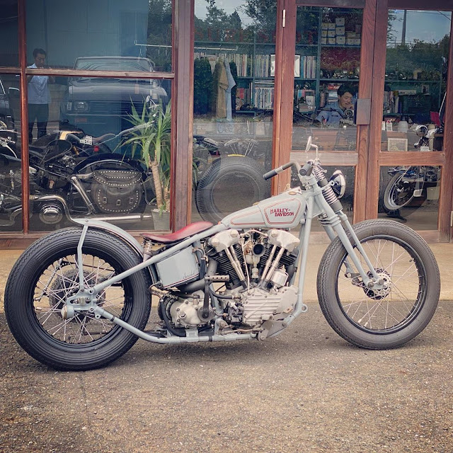 Harley Davidson Knucklehead By Sure Shot Hell Kustom
