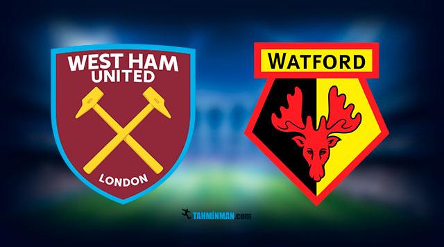 West Ham - Watford İddaa Maç Tahmini