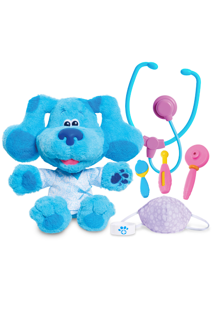 Just Play Blues Clues & You Plush Toy Doctor Set
