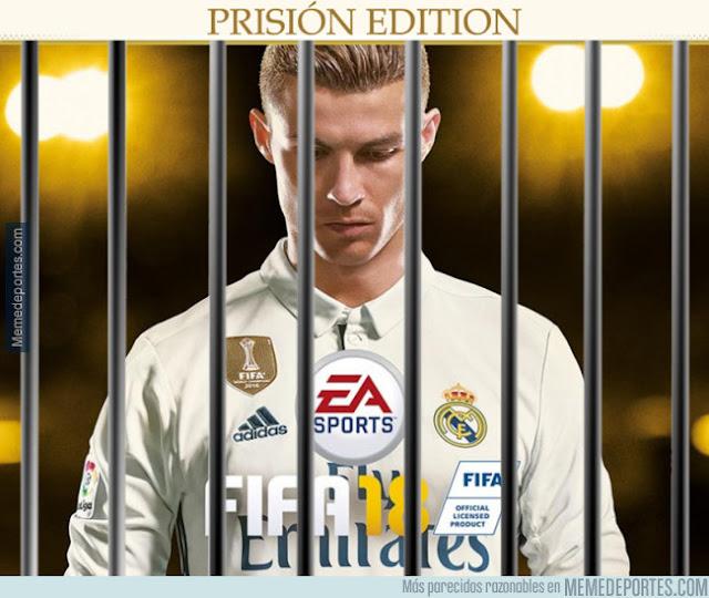 Se filtra la nueva portada de FIFA 18 | Cristiano Prision Edition