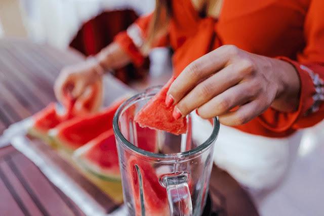 Lower back pain - back pain - watermelon juice