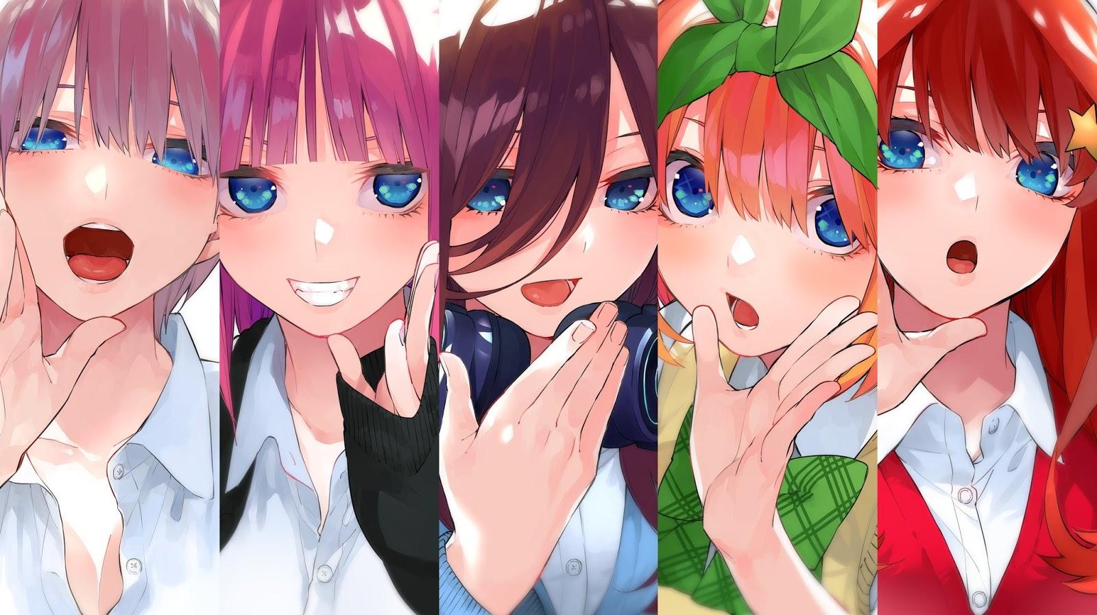 Go-Toubun no Hanayome (The Quintessential Quintuplets) terminará en su tomo 14.