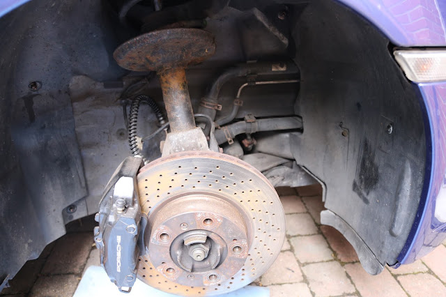 Porsche 996 Front Suspension Knocking When Warm