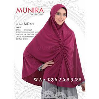 Hijab Munira MD 42 Koleksi jilbab syari terbaru dewasa