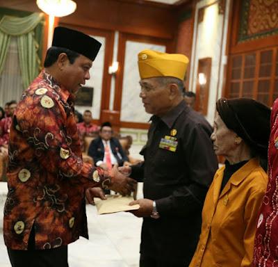 Veteran Banua Bangga Kepedulian Gubernur