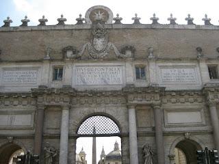 Porta del Popolo, Roma