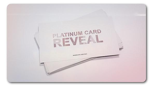 قالب افتر افكت الكشف عن لوجو بطاقة أعمال | CS5.5 فأعلى