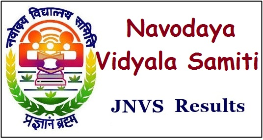 Jawahar Navodaya Vidyalaya Samiti Results