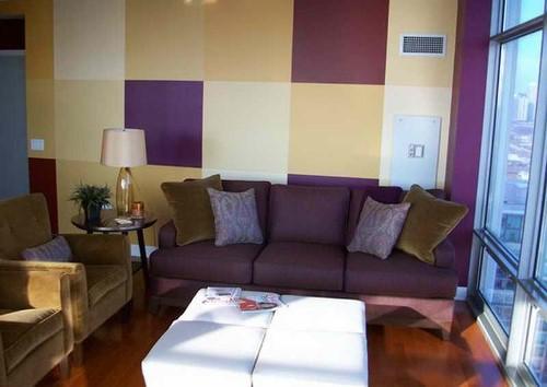 Keseimbangan Warna Ruang Tamu Rumah Minimalis