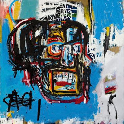 """La obra """"Sin título"""" de Jean-Michel Basquiat se subastó en Sotheby's por USD 110.5 millones, en 2017."""