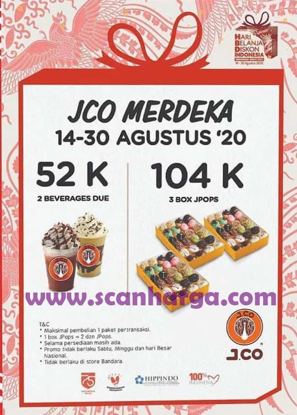 Promo JCO Merdeka Agustus 2020