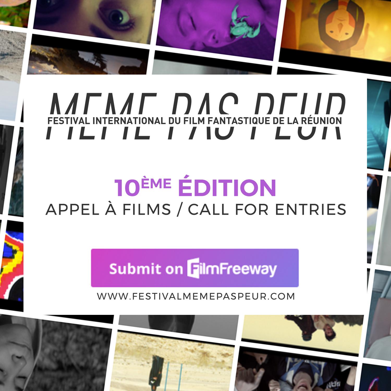 MEME PAS PEUR 2020 : Inscrivez votre court métrage !