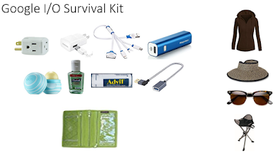 Google I/O Survival Kit