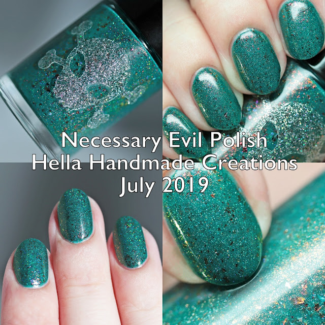 Necessary Evil Polish Hella Handmade Creations July 2019