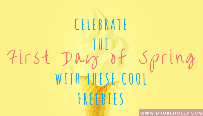 Celebrate the First Day of Spring with these Cool Freebies!