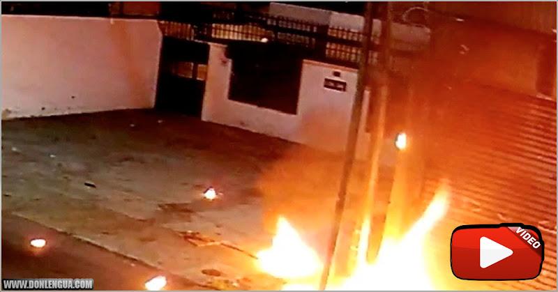 Detenido tras incendiar a propósito una tanquilla de la Electricidad en Chacao