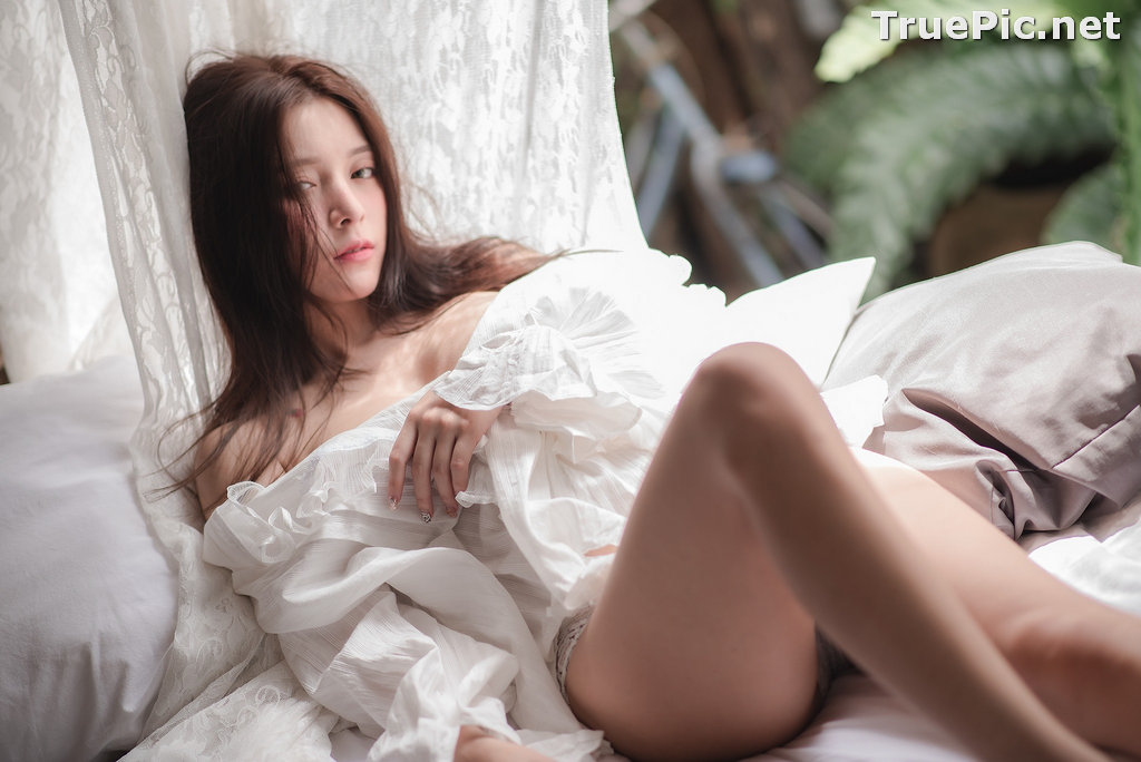 Image Thailand Model - Nardear Montgod - Sexy Beautiful In White - TruePic.net - Picture-4