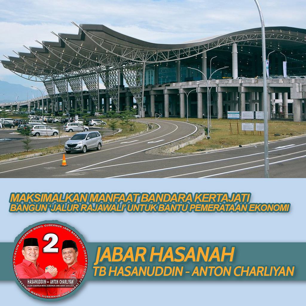 Bandara Kertajati Dibuka Jokowi, Tb Hasanuddin Siapkan Jalur Rajawali