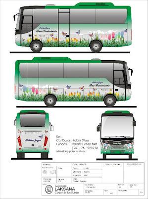 Jenis Dan Type Bus Dari Berbagai Macam Karoseri Bus Yang Ada Di