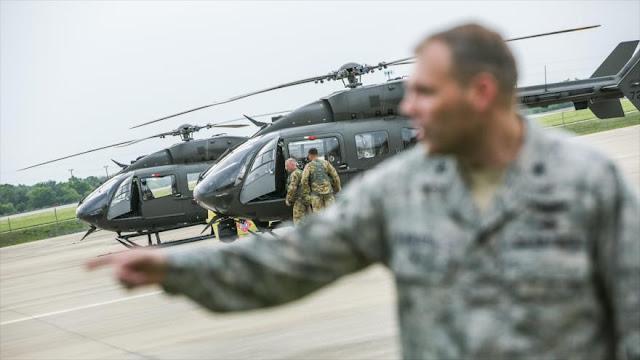 EEUU inicia despliegue de 4000 soldados en la frontera con México