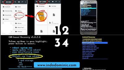 Cara Flash Hp Samsung Tanpa PC Via SD Card