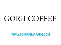 Loker Semarang Lulusan SMA SMK di Gorii Coffee