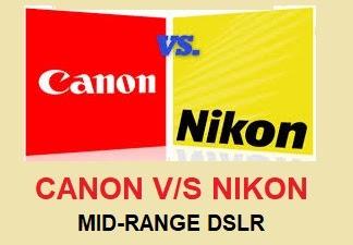 Canon vs Nikon