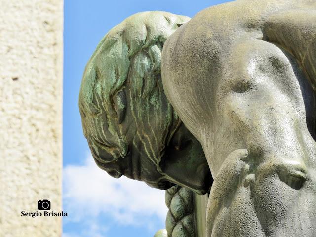 Os Construtores (detalhe) - Monumento a Ramos de Azevedo