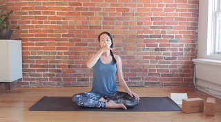 5 yin yoga poses and affirmations for the third eye chakra