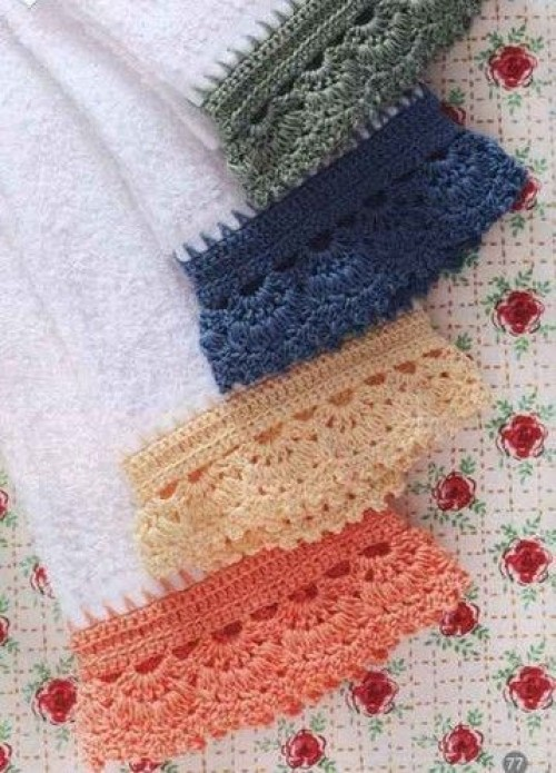 Crochet Borders - Free Pattern