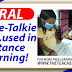 Viral: Walkie-Talkie Radio, used in Distance Learning!