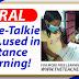 Viral: Walkie-Talkie Radio, used in Distance Learning!