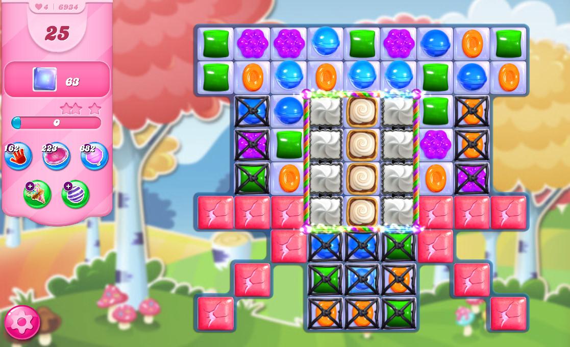Candy Crush Saga level 6934