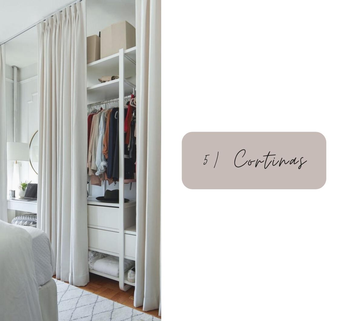 9 ideias de closet pequeno para apartamento