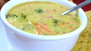 Brokoli Kaşar Çorbası