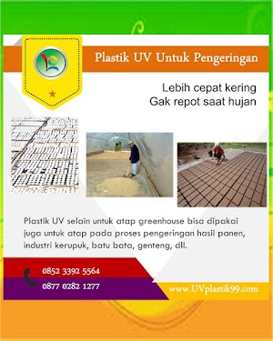 Plastik UV Untuk Pengeringan