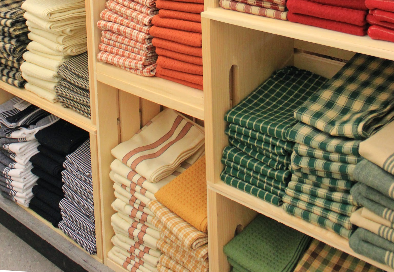 Dunroven Tea Towels available in a variety of colors.