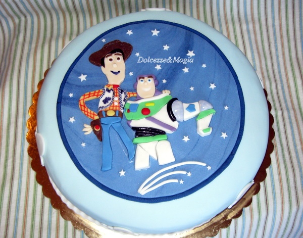 Dolcezze e Magia: Toy Story Cake, una torta in 2D