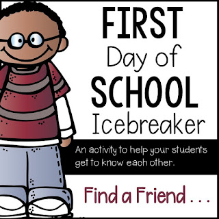 First Day Icebreaker