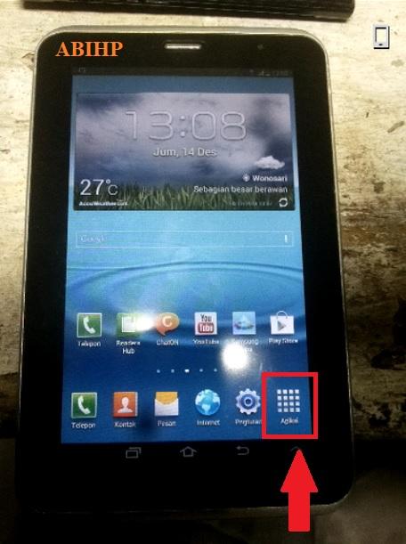2 Cara Hard Reset Samsung Tab 2 P3100 1