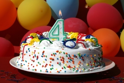 The 4 Years Old Blog