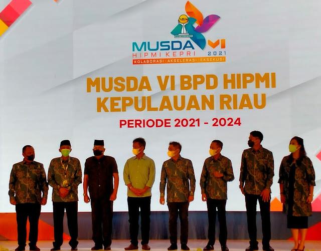 Sari Dwi Mulyawaty Terpilih Sebagai Ketua Umum BPD HIPMI Kepri Periode 2021-2024