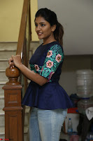 Eesha Looks super cute stunning in Denim Jeans and Top at Darsakudu movie Inerview ~  Exclusive 054.JPG
