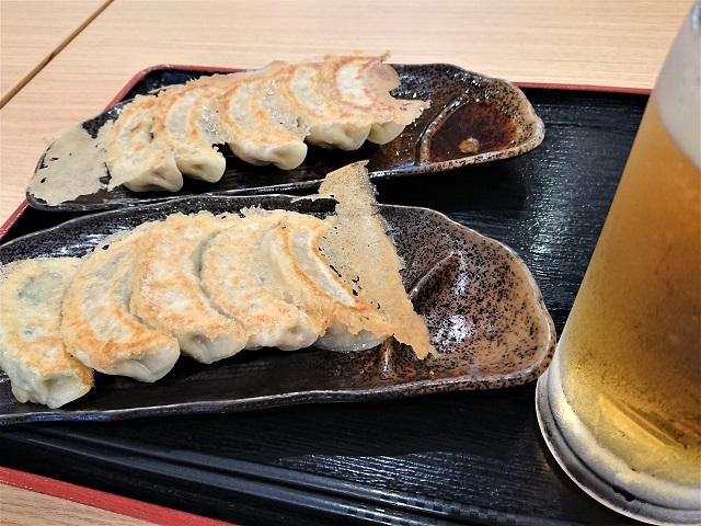 中生ビール・W一二三餃子セット