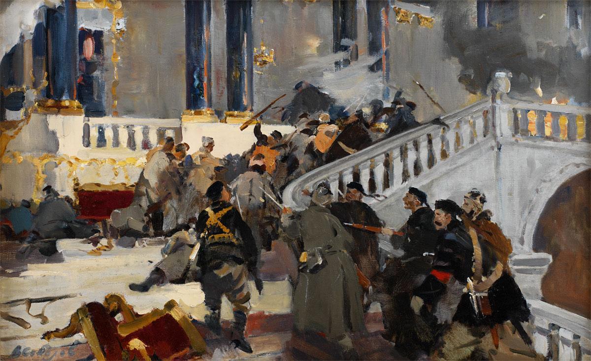 soviet art storming the