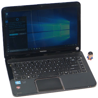 Laptop Design Toshiba L840 Core i5 Second di Malang