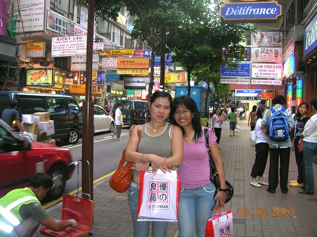 Hongkong Shopping Area